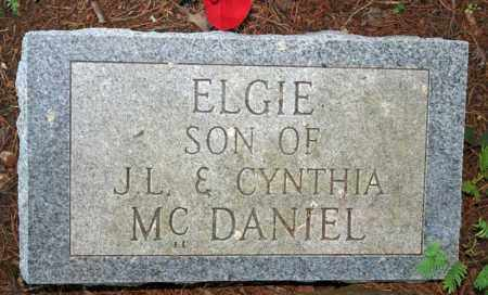 MCDANIEL, ELGIE - Searcy County, Arkansas | ELGIE MCDANIEL - Arkansas Gravestone Photos