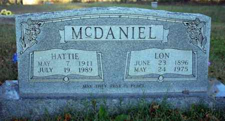 HENSON MCDANIEL, HATTIE - Searcy County, Arkansas | HATTIE HENSON MCDANIEL - Arkansas Gravestone Photos