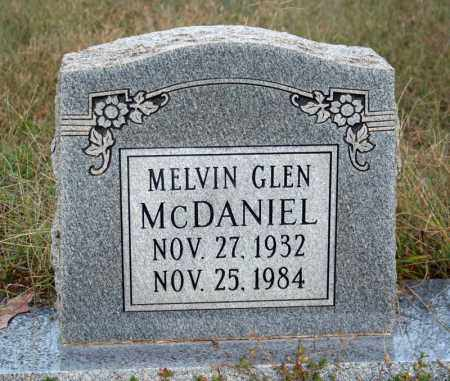 MCDANIEL, MELVIN GLEN - Searcy County, Arkansas | MELVIN GLEN MCDANIEL - Arkansas Gravestone Photos
