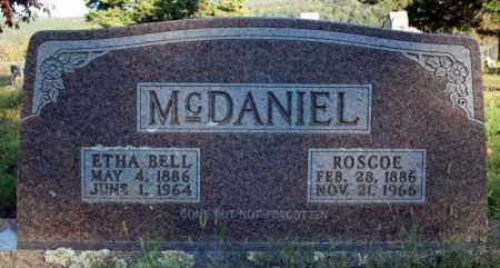 MCDANIEL, ETHA BELL - Searcy County, Arkansas | ETHA BELL MCDANIEL - Arkansas Gravestone Photos