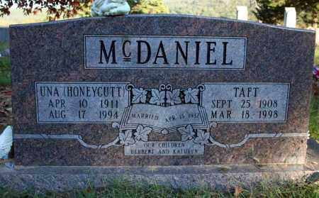 MCDANIEL, TAFT - Searcy County, Arkansas | TAFT MCDANIEL - Arkansas Gravestone Photos