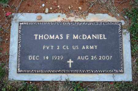 MCDANIEL (VETERAN), THOMAS F - Searcy County, Arkansas | THOMAS F MCDANIEL (VETERAN) - Arkansas Gravestone Photos