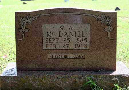 MCDANIEL, W.A. - Searcy County, Arkansas | W.A. MCDANIEL - Arkansas Gravestone Photos