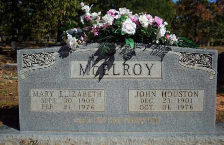 MCELROY, JOHN HOUSTON - Searcy County, Arkansas | JOHN HOUSTON MCELROY - Arkansas Gravestone Photos
