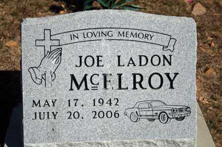 MCELROY, JOE LADON - Searcy County, Arkansas | JOE LADON MCELROY - Arkansas Gravestone Photos