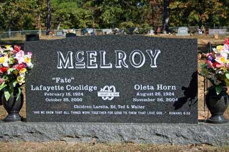 MCELROY, OLETA - Searcy County, Arkansas | OLETA MCELROY - Arkansas Gravestone Photos