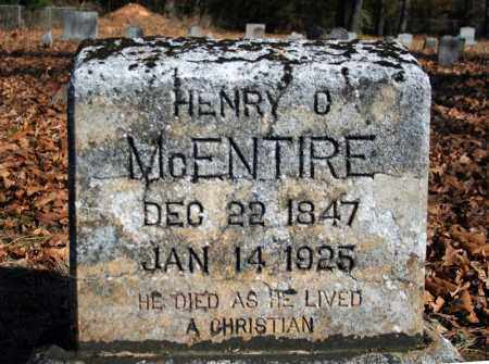 MCENTIRE, HENRY O. - Searcy County, Arkansas | HENRY O. MCENTIRE - Arkansas Gravestone Photos
