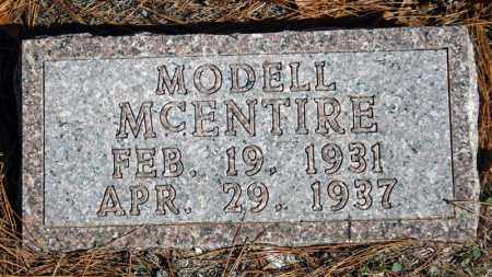 MCENTIRE, MODELL - Searcy County, Arkansas | MODELL MCENTIRE - Arkansas Gravestone Photos
