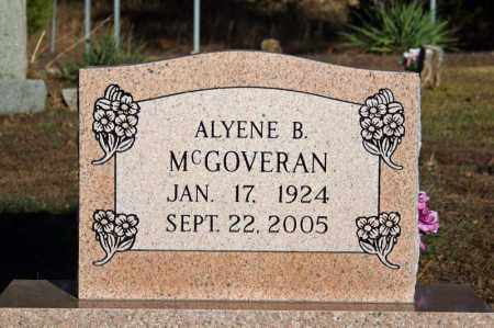 MCGOVERAN, ALYENE B. - Searcy County, Arkansas | ALYENE B. MCGOVERAN - Arkansas Gravestone Photos