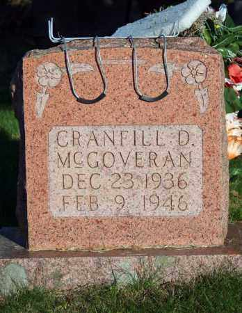 MCGOVERAN, CRANFILL D. - Searcy County, Arkansas | CRANFILL D. MCGOVERAN - Arkansas Gravestone Photos