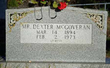 MCGOVERAN, DEXTER CLARK - Searcy County, Arkansas | DEXTER CLARK MCGOVERAN - Arkansas Gravestone Photos