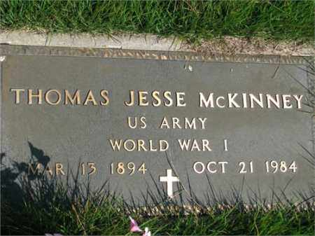MCKINNEY (VETERAN WWI), THOMAS JESSE - Searcy County, Arkansas | THOMAS JESSE MCKINNEY (VETERAN WWI) - Arkansas Gravestone Photos