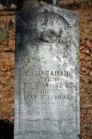 MCMAHAN, E. - Searcy County, Arkansas | E. MCMAHAN - Arkansas Gravestone Photos