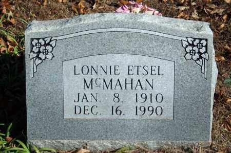 MCMAHAN, LONNIE ETSEL - Searcy County, Arkansas | LONNIE ETSEL MCMAHAN - Arkansas Gravestone Photos