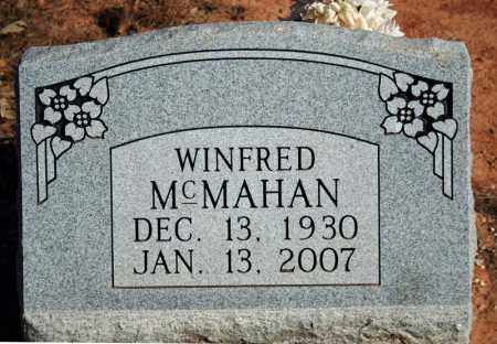 MCMAHAN, WINFRED - Searcy County, Arkansas | WINFRED MCMAHAN - Arkansas Gravestone Photos