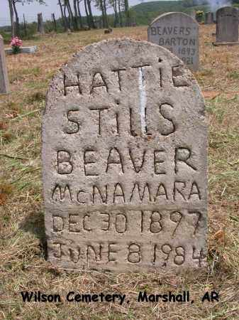 STILLS MCNAMARA, HATTIE - Searcy County, Arkansas | HATTIE STILLS MCNAMARA - Arkansas Gravestone Photos