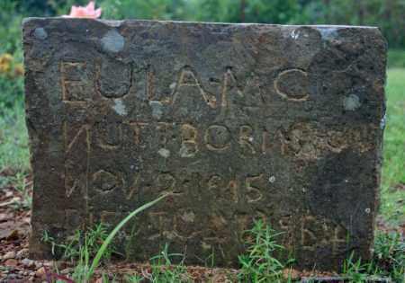 MCNUTT, EULA #2 - Searcy County, Arkansas | EULA #2 MCNUTT - Arkansas Gravestone Photos