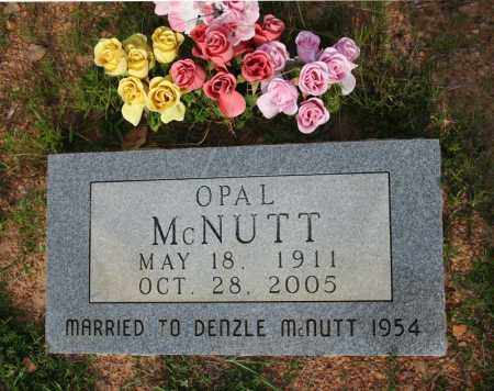 MCNUTT, OPAL E. (FLATT) - Searcy County, Arkansas | OPAL E. (FLATT) MCNUTT - Arkansas Gravestone Photos