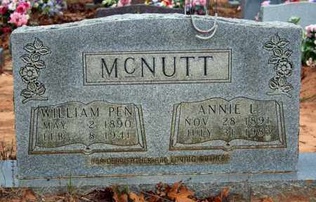 PINKLEY MCNUTT, ANNIE L. - Searcy County, Arkansas | ANNIE L. PINKLEY MCNUTT - Arkansas Gravestone Photos