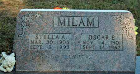 MILAM, STELLA A. - Searcy County, Arkansas | STELLA A. MILAM - Arkansas Gravestone Photos