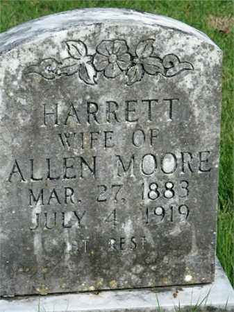MOORE, HARRETT - Searcy County, Arkansas | HARRETT MOORE - Arkansas Gravestone Photos