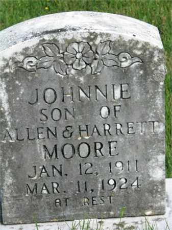 MOORE, JOHNNIE - Searcy County, Arkansas | JOHNNIE MOORE - Arkansas Gravestone Photos