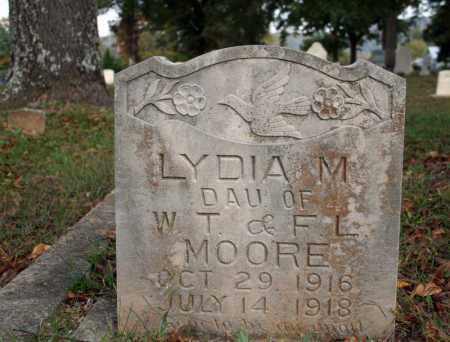 MOORE, LYDIA M. - Searcy County, Arkansas | LYDIA M. MOORE - Arkansas Gravestone Photos