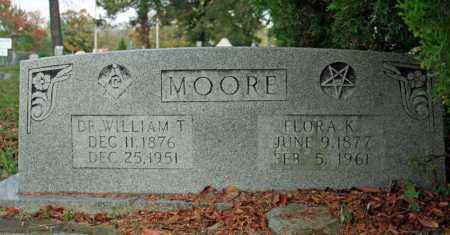 KEELING MOORE, FLORA K. - Searcy County, Arkansas | FLORA K. KEELING MOORE - Arkansas Gravestone Photos