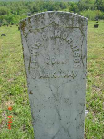 MORRISON (VETERAN UNION), LEWIS C - Searcy County, Arkansas | LEWIS C MORRISON (VETERAN UNION) - Arkansas Gravestone Photos