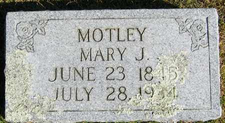 FULLERTON MOTLEY, MARY JANE - Searcy County, Arkansas | MARY JANE FULLERTON MOTLEY - Arkansas Gravestone Photos
