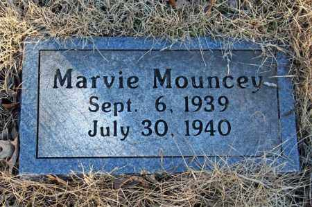MOUNCEY, MARVIE - Searcy County, Arkansas | MARVIE MOUNCEY - Arkansas Gravestone Photos