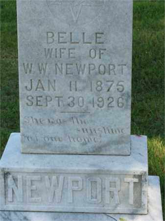 NEWPORT, BELLE - Searcy County, Arkansas | BELLE NEWPORT - Arkansas Gravestone Photos