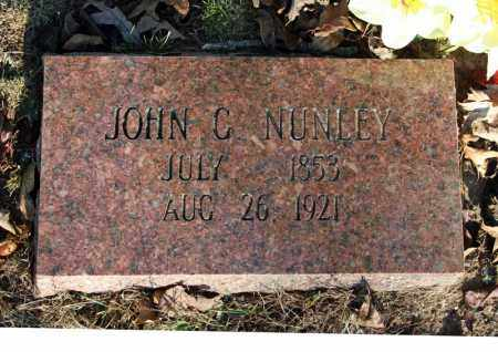 NUNLEY, JOHN C. - Searcy County, Arkansas | JOHN C. NUNLEY - Arkansas Gravestone Photos