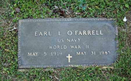O'FARRELL (VETERAN WWII), EARL L - Searcy County, Arkansas | EARL L O'FARRELL (VETERAN WWII) - Arkansas Gravestone Photos
