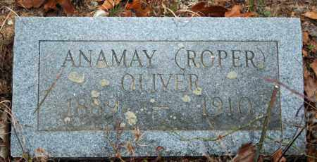 ROPER OLIVER, ANAMAY - Searcy County, Arkansas | ANAMAY ROPER OLIVER - Arkansas Gravestone Photos