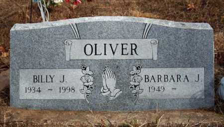 OLIVER, BILLY J. - Searcy County, Arkansas | BILLY J. OLIVER - Arkansas Gravestone Photos