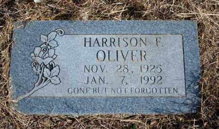OLIVER, HARRISON F. - Searcy County, Arkansas | HARRISON F. OLIVER - Arkansas Gravestone Photos