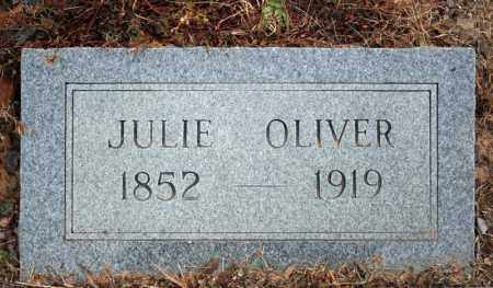 OLIVER, JULIE - Searcy County, Arkansas | JULIE OLIVER - Arkansas Gravestone Photos