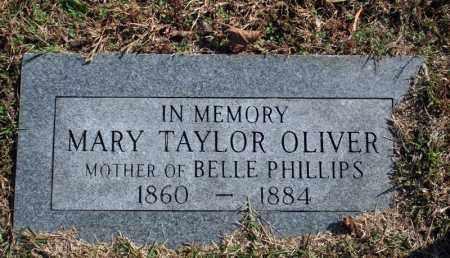 TAYLOR OLIVER, MARY - Searcy County, Arkansas | MARY TAYLOR OLIVER - Arkansas Gravestone Photos