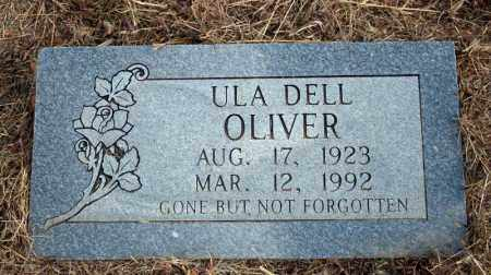 OLIVER, ULA DELL - Searcy County, Arkansas | ULA DELL OLIVER - Arkansas Gravestone Photos