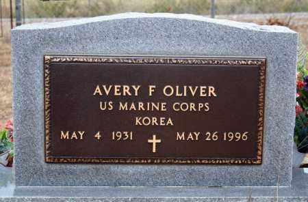 OLIVER (VETERAN KOR), AVERY F - Searcy County, Arkansas | AVERY F OLIVER (VETERAN KOR) - Arkansas Gravestone Photos