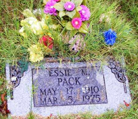 PACK, ESSIE M. - Searcy County, Arkansas | ESSIE M. PACK - Arkansas Gravestone Photos
