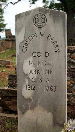 PARKS (VETERAN CSA), GIBSON W - Searcy County, Arkansas | GIBSON W PARKS (VETERAN CSA) - Arkansas Gravestone Photos