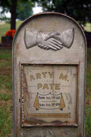 PATE, ARTY M. - Searcy County, Arkansas | ARTY M. PATE - Arkansas Gravestone Photos
