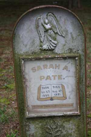 PATE, SARAH A. - Searcy County, Arkansas | SARAH A. PATE - Arkansas Gravestone Photos