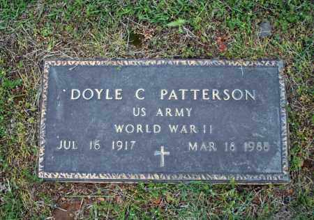 PATTERSON (VETERAN WWII), DOYLE C - Searcy County, Arkansas | DOYLE C PATTERSON (VETERAN WWII) - Arkansas Gravestone Photos