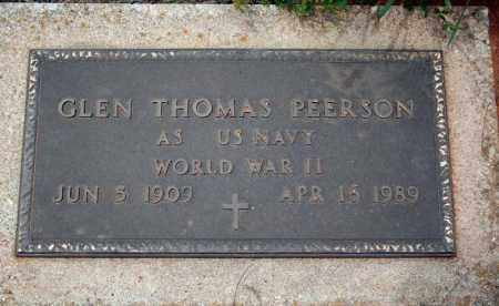 PEERSON (VETERAN WWII), GLEN THOMAS - Searcy County, Arkansas | GLEN THOMAS PEERSON (VETERAN WWII) - Arkansas Gravestone Photos