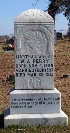 PERRY, MARTHA L. - Searcy County, Arkansas | MARTHA L. PERRY - Arkansas Gravestone Photos