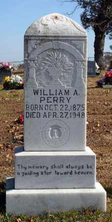 PERRY, WILLIAM A. - Searcy County, Arkansas | WILLIAM A. PERRY - Arkansas Gravestone Photos