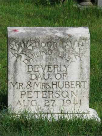 PETERSON, BEVERLY - Searcy County, Arkansas | BEVERLY PETERSON - Arkansas Gravestone Photos